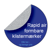 Bobbelfree / Rapid-air klistermærker